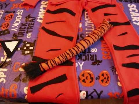 How to make a Tiger Costume