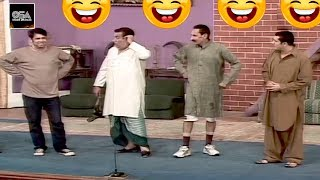 ZAFRI KHAN, IFTIKHAR THAKUR & NASIR CHINYOTI Stage Drama Best Comedy Clip😂