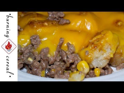 Cheesy Beef n TaterTot Casserole - Recipe
