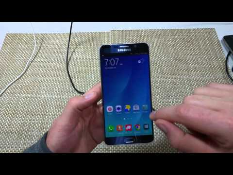 Samsung Galaxy Note 5 How to turn of Talk Back / Voice Assistant under Accessibility options