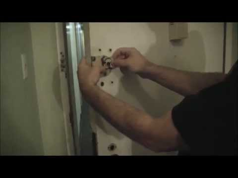 How To Change The Cylinder On A Surface Mount Door Lock