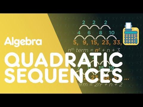 Quadratic Sequences: nth Term | Algebra | Maths | FuseSchool