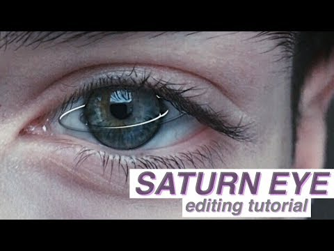 TUMBLR SATURN EYE // Editing Tutorial