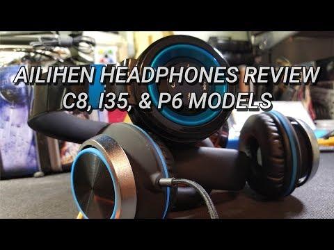 Ailihen Headphones Review - C8, I35, and P6 Models