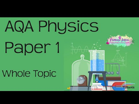 The whole of AQA Physics Paper 1 in only 40 minutes!! GCSE 9-1 Revision