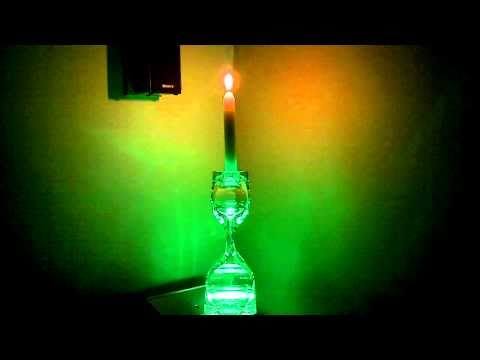 RGB LED Candle Mood Light