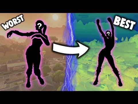 RANKING *EVERY* PURPLE EMOTE FROM WORST TO BEST!!! (Fortnite Battle Royale)