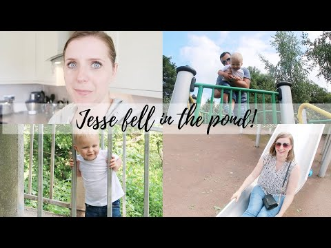 JESSE FELL IN THE POND! | THE SATURDAY VLOG #49 | CARLY ELLEN