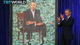 Presidential Portrait: Obama portraits unveiled at Smithsonian