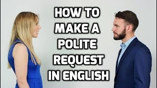 How to Request / Ask for something 🙏 Politely in English
