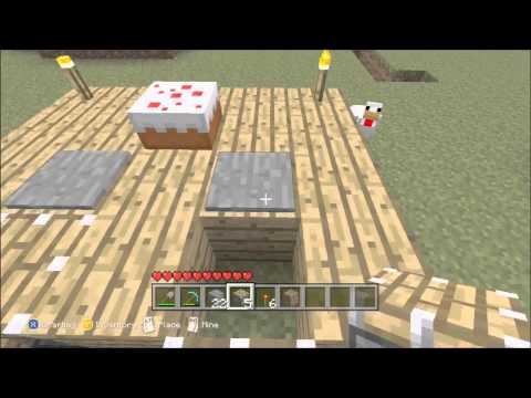 Minecraft Xbox 360 Edition - Let's Build Furniture, Cake Edition!