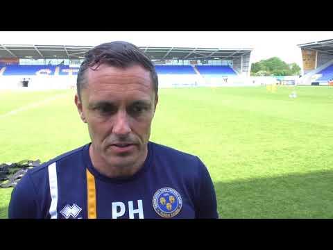 League One play-off final: Paul Hurst feature - Part 1