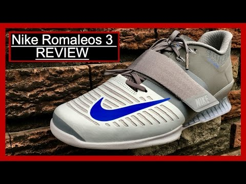 Nike Romaleos 3 Unboxing And Review