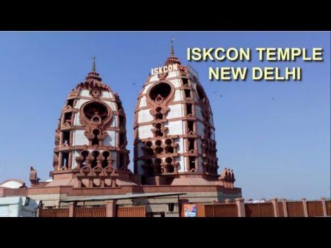 Iskcon temple, New Delhi