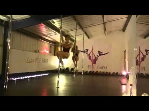 Pole Heaven Fitness Christmas course routine