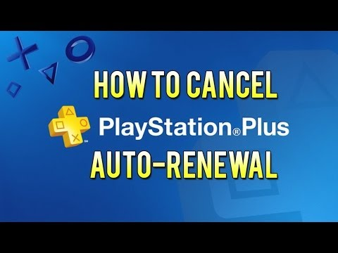 How To Cancel Auto-Renewal For PlayStation Plus or Other Subscriptions [PS4]