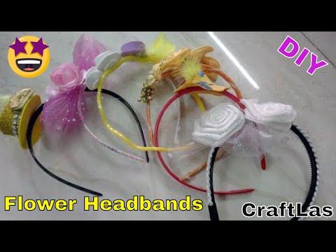 DIY Flower Headbands Making Superb Ideas | How To | CraftLas