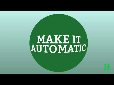 Money 101: Make your savings automatic