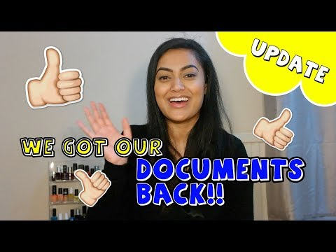 UK Spouse Visa 2018 - UPDATE: We Got Our Documents Back