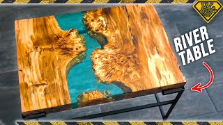 Download Resin River Handmade Table Video