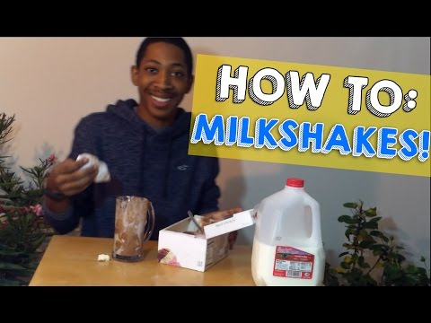 HOW TO: Make A Milkshake (Without A Blender)