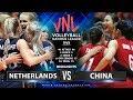 Netherland Vs China Highlights Womens VNL 2019