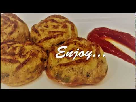 अण्डे से बना बहुत ही टेस्टी और आसान नाश्ता - Baked Omelete/Egg Muffin/Muffin Recipe/Egg Recipe