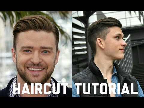 How I cut my hair / inspired by Justin Timberlake - Men's Undercut Haircut & Hairstyle Tutorial