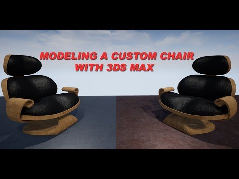 Modeling a Custom Chair with 3ds Max