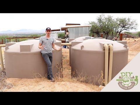 Off Grid Rainwater Harvesting - Home Tour