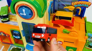 Learning Colors and Vehicles Video for Toddlers and Kids - Tayo Playsets and Amusement Park Toys!