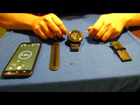 How to switch watch bands - Garmin Fenix 3 HR - MoKo stainless steel watch band