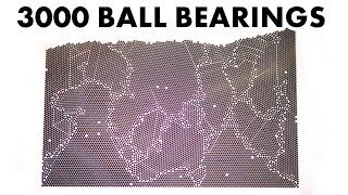Self organising steel balls explain metal heat treatment