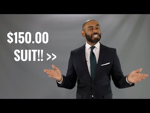 How To Make A Cheap Men's Suit Look Expensive/How To Make A Cheap Suit Look Good