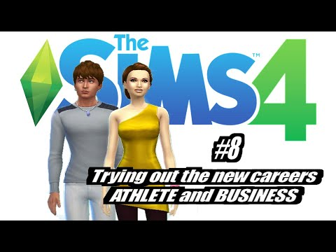 Sims 4: New Careers (Business & Athlete) EP8