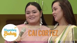 Beauty surprises on Cai Cortez's visit | Magandang Buhay