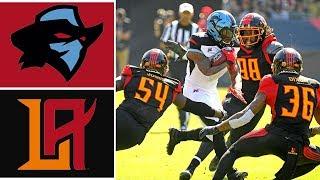 Dallas Renegades vs Los Angeles Wildcats Highlights | Week 2 | 2020 XFL Football Highlights