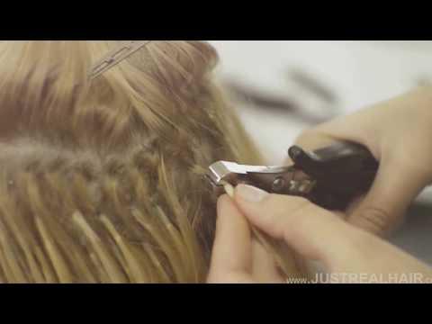 keratin Fusion removal Hair Extensions