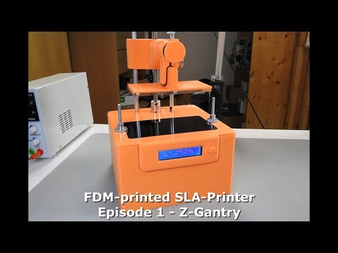 DIY: FDM-printed SLA-Printer - Part 1