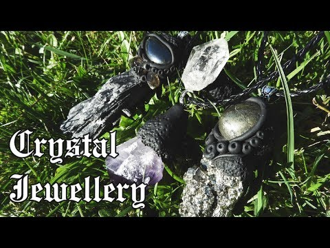 Making Crystal Jewellery! Using Oven Bake Clay