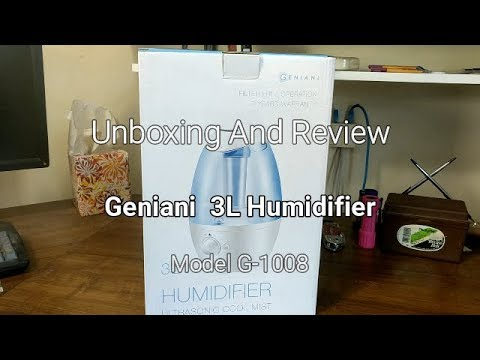 Geniani 3L Humidifier