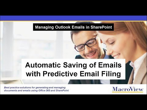 Automatic Filing of Outlook Emails to SharePoint