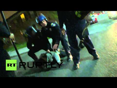 USA: Ruptly producer robbed at Baltimore protest