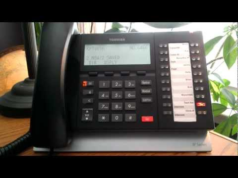 How to Clear the Message Waiting Indicator Light from Toshiba Telephones ACC Telecom Video
