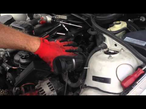 BMW E46 325i 328i 330i Coolant Expansion Tank Replacement and ICV Clean And Test