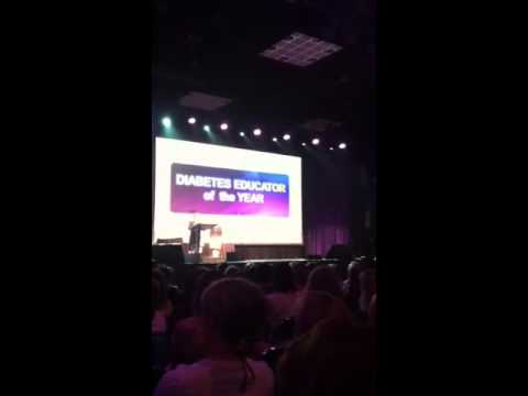 Joanne Rinker AADE 2013 Diabetes Educator of the Year!