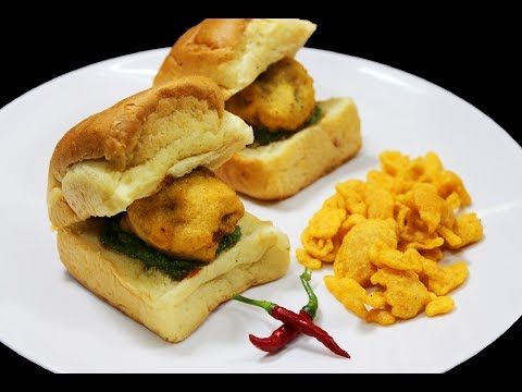 Vada Pav (Popular Street Food) - Chef Lall's Kitchen