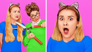 FUNNY PRANKS ON TEACHERS || DIY Back to School Hacks and Tricks by 123 GO! SCHOOL