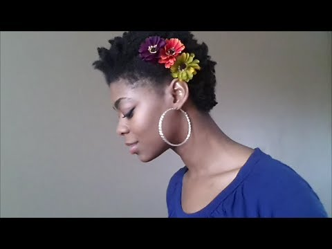 4C Natural Hair - Easy Flower Accessories(How to make) - NaturalMe4C