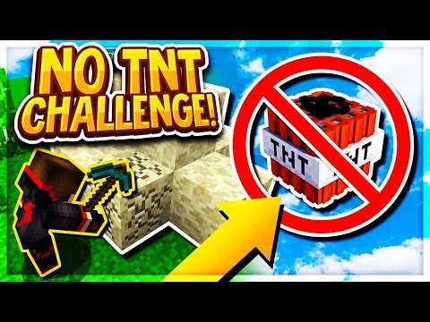 NO TNT CHALLENGE IN BEDWARS! (Minecraft BedWars)